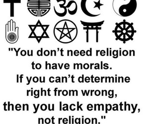 religion, morals, and quotes image