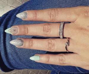 nails ring summer image