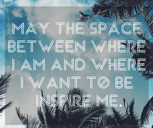 quote, inspire, and space image