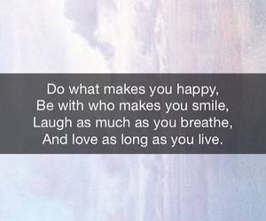 quotes, wallpaper, and happy image