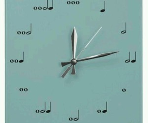 music and clock image