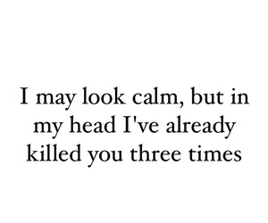 but, calm, and head image