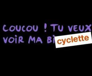 bicycle, coucou, and french image