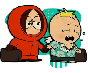 South park, kenny mccormick, and butters stotch image