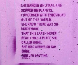 pink, quote, and earth image