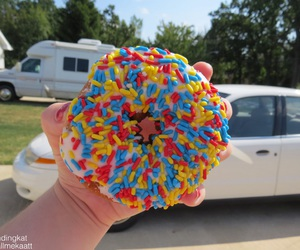 donut, quality tumblr, and summer image