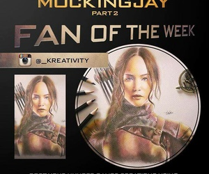 the hunger games, katniss everdeen, and mockingjaypart2 image