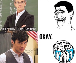 pll, funny, and homework image