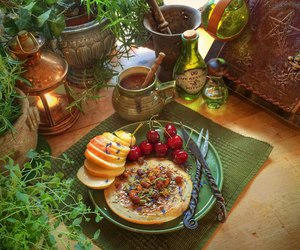 fantasy, medieval, and food image
