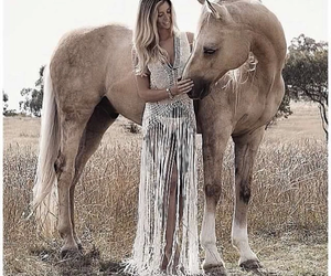 horse, beauty, and fashion image