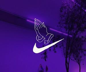nike, purple, and Drake image