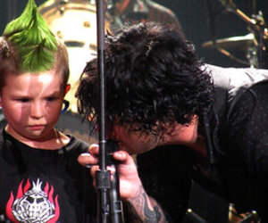 billie joe, green day, and child image