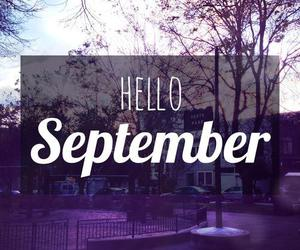 September, hello, and hello september image