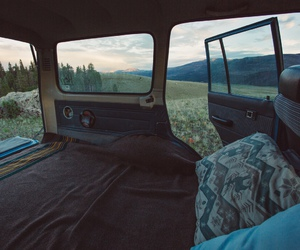 adventure, car, and hike image