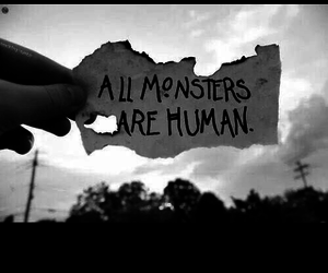 humans and monsters image