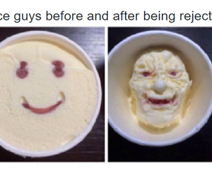funny, guys, and ice cream image