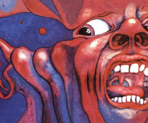 king crimson, art, and music image