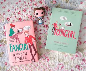 books, girly, and rainbow rowell image