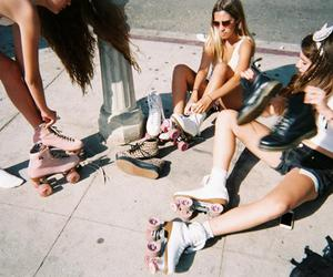 fashion, roller, and good moments image