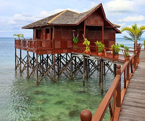 beach, exotic, and Malaysia image