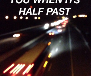 cars, highways, and lights image