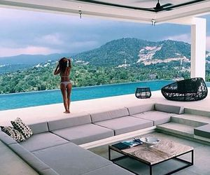 summer, luxury, and view image
