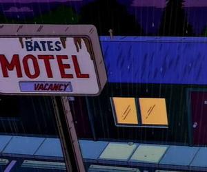 bates motel and cartoon image