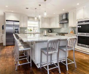 kitchen island, kitchen island designs, and kitchen island ideas image