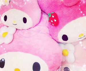 dolls, my melody, and pink image