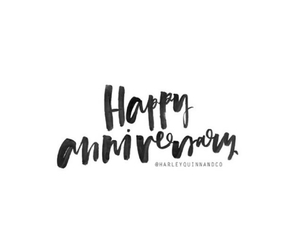anniversary, happy, and months image