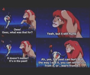 lessons, quotes, and the lion king image