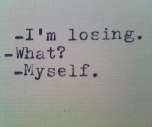 losing and myself image