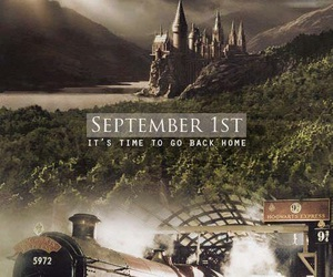 harry potter, hogwarts, and home image