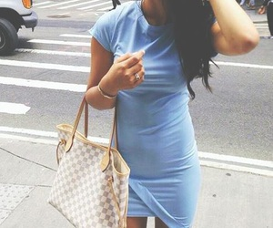 dress, Louis Vuitton, and love image