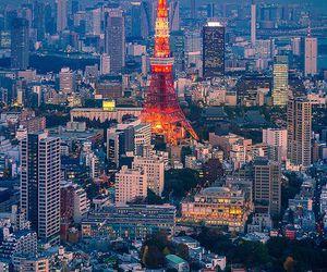 tokyo, japan, and paris image