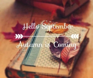 September, autumn, and coming image