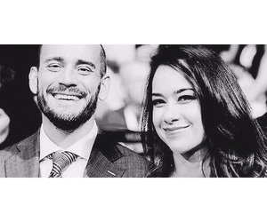 cm punk, aj lee, and love image