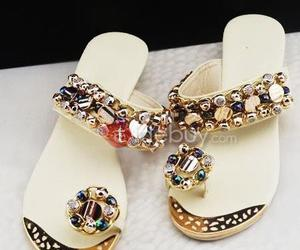 beautiful, sandals, and shoes image