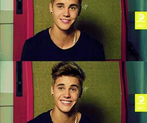 justin bieber, smile, and justin image