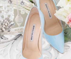 shoes, manolo blahnik, and beautiful image