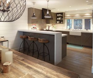 gray, home ideas, and kitchen image