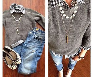 beautiful, grey, and jeans image