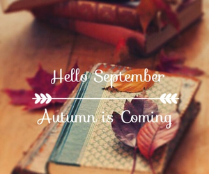 Halloween, hello september, and autumn is comming image