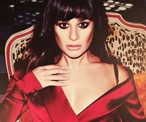 beauty, lea michele, and glee image