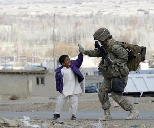 soldier, boy, and army image