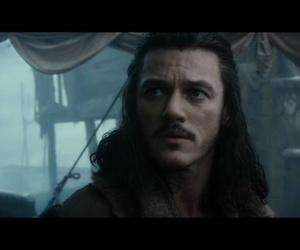 the hobbit, luke evans, and bard l'archer image