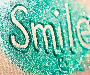paillettes and smile image