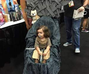 cosplay, small girl, and game of thrones image