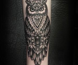 boy, girl, and tatoo image