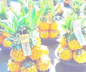 pineapple, food, and fruit image